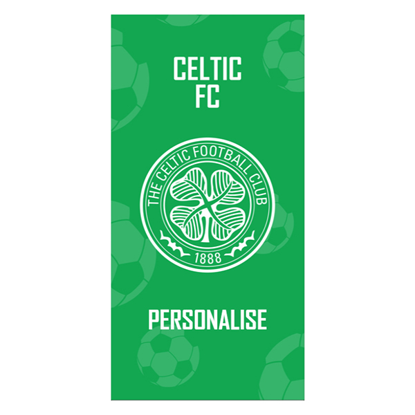 Celtic FC Crest Design Towel 70 x 140cm No Colour