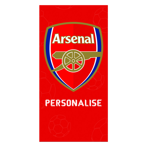 Arsenal FC Towel Crest Design 70 x 140cm No Colour