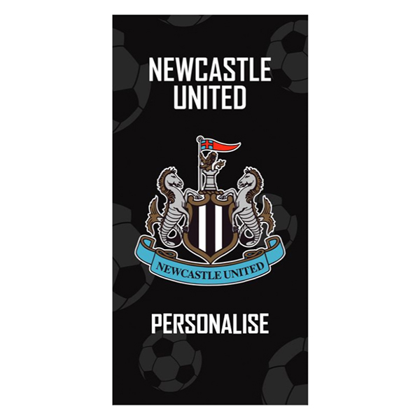 Newcastle United FC Crest Design Towel  70cm x 140cm No Colour