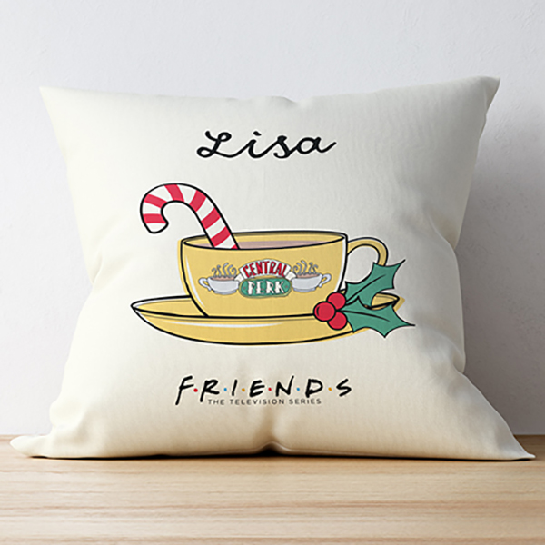 FRIENDS Cushion Christmas No Colour
