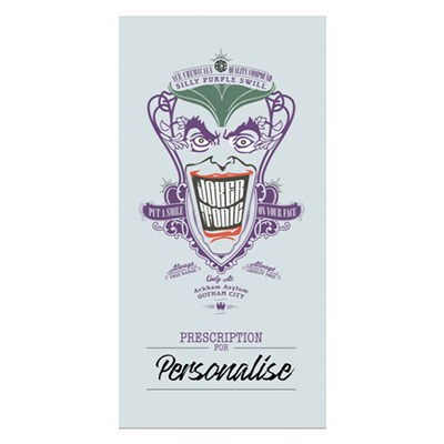 Batman Villains Joker Tonic Towel