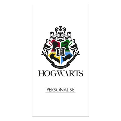 Harry Potter Towel Hogwarts Crest