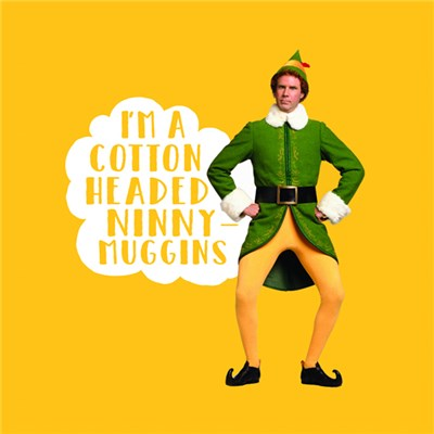 Elf Cushion Ninny Muggins