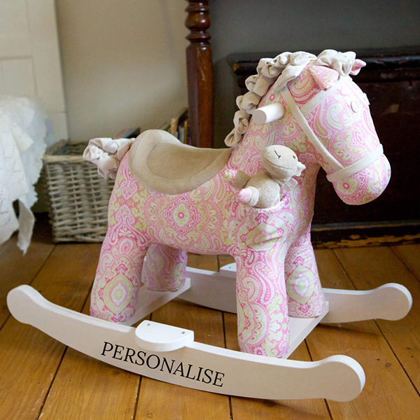 Rocking Horse Pixie and Fluff No Colour