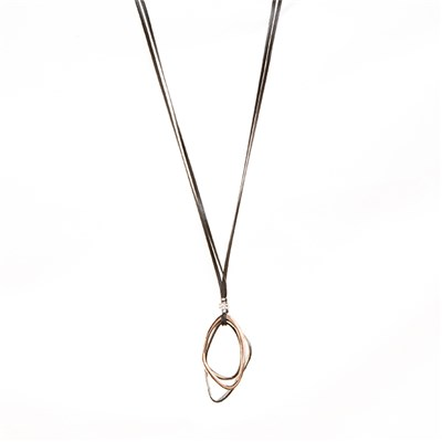 Hoops Cord Necklace