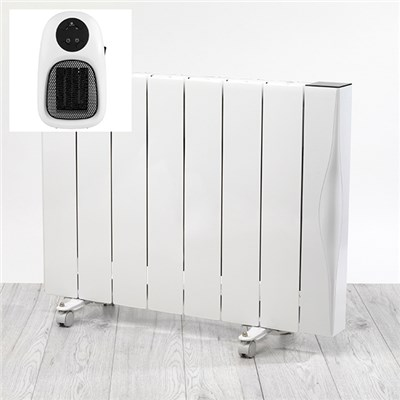 Beldray 2000w Ceramic Radiator WIFI with Plug In Heater