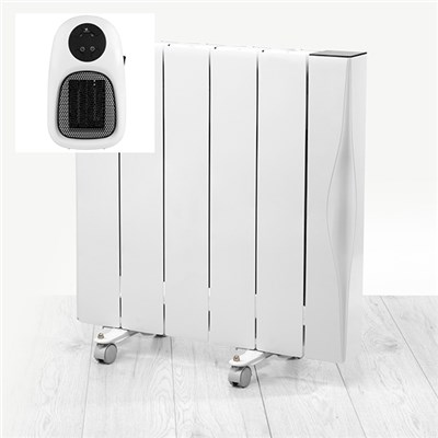 Beldray 1500w Ceramic Radiator WIFI with Plug In Heater