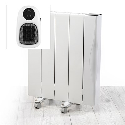 Beldray 1000W Ceramic Radiator WIFI with Plug In Heater