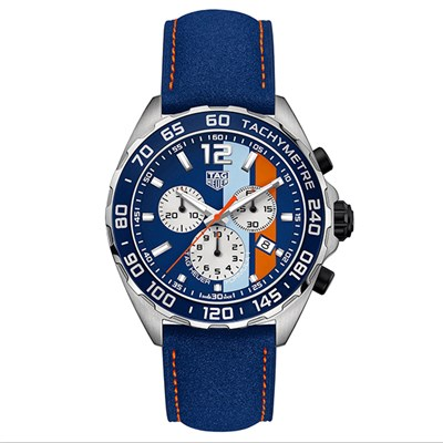 Tag Heuer Gent�s Formula 1 Gulf Chronograph Special Edition Watch