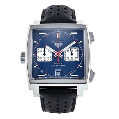 TAG Heuer Gent's Monaco Calibre 11 Automatic Chronograph Watch