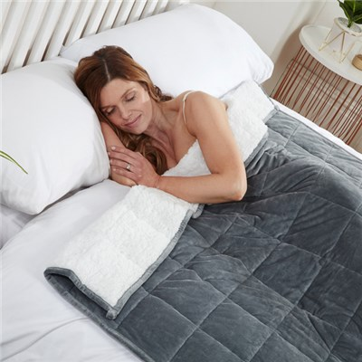 Sherpa Fleece Weighted Blanket 40 x 60""