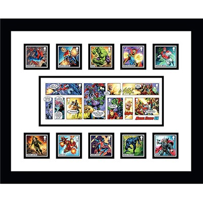 Marvel Framed Official Stamps & Stunning Marvel Minisheet