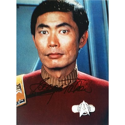 Personally Signed George Takei Colour Photo