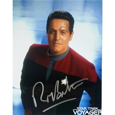 Robert Beltran in Star Trek Voyager Personally Signed Colour Photo