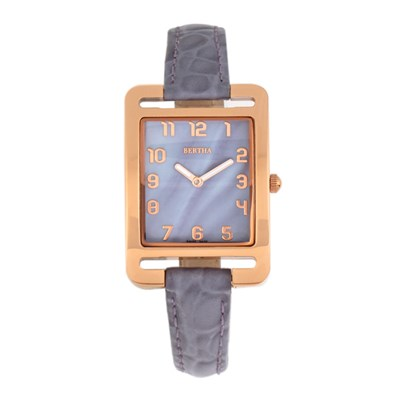 Bertha Ladies' Marisol Watch with Genuine Leather Strap