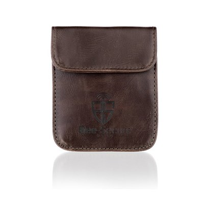 Bee-Secure Key Pouch Brown PU Leather