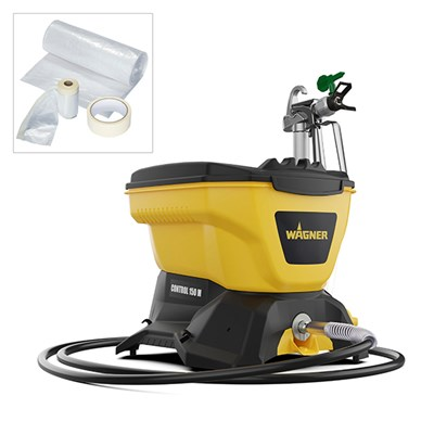 Wagner Control 150M Airless Paint Sprayer with Universal Masking Kit