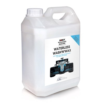 ROKiT Williams Racing Waterless Wash and Wax Car Cleaner 2.5L