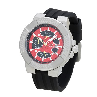 Delorean Gents Limited Edition Automatic Shocker Watch with Silicone Strap