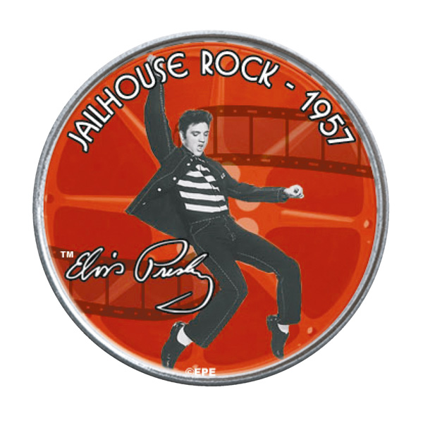 Elvis Presley Jailhouse Rock Original Collectors Coin in Display Box No Colour