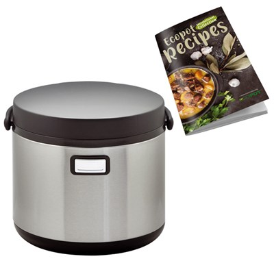 Eco Pot 5L with Cook Book