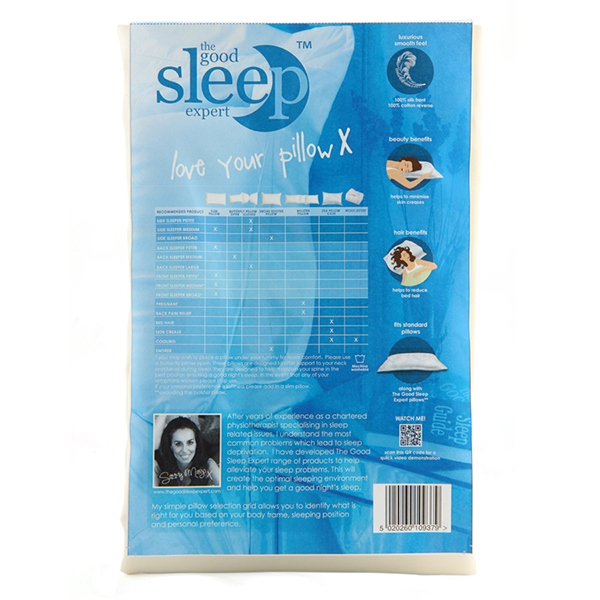 Good Sleep Expert Silk Pillowcase No Colour