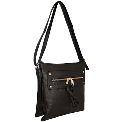 Cross Body Pocket Detail Bag
