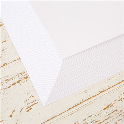 Create and Craft - 50 Sheets of Super Smooth 350GSM Cardstock