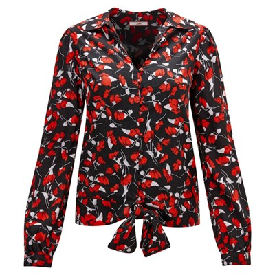 Joe Browns Floral Tie Waist Blouse