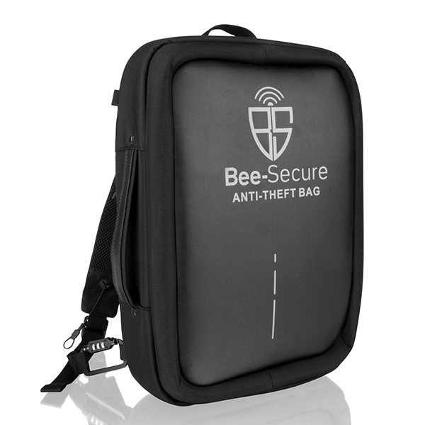 Bee-Secure Anti-Theft Laptop Bag No Colour