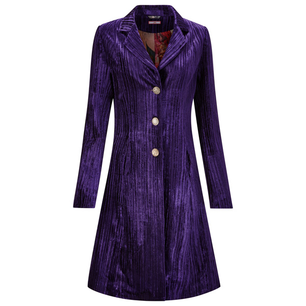 Joe Browns The Vampiress Coat Purple