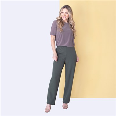 Nicole Stretch Crepe Trouser