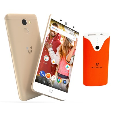 Wileyfox Swift 2 Gold plus Free 4000mAh Powerbank and 1 Year Screen Replacement