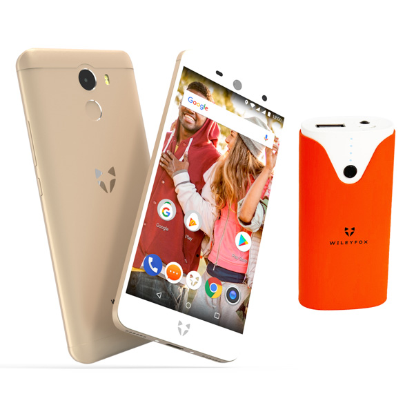 Wileyfox Swift 2 Gold plus Free 4000mAh Powerbank and 1 Year Screen Replacement Gold
