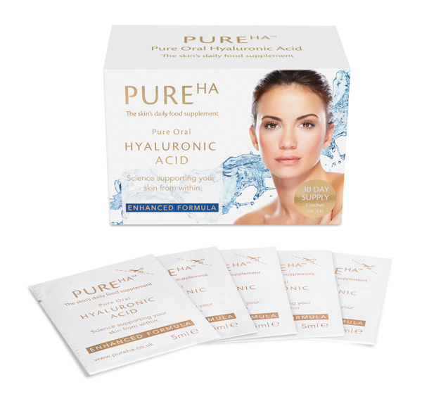 Pure HA Oral Hyaluronic Acid (30 Day Supply) No Colour