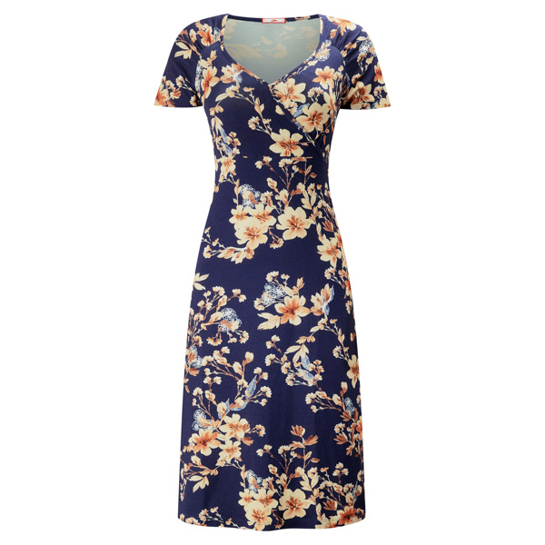 Joe Browns Glamorous Jersey Dress Navy