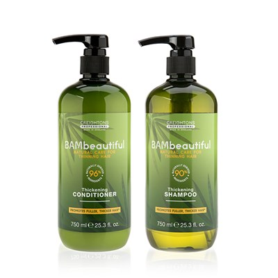 BAMbeautiful Thickening Shampoo & Conditioner 750ml
