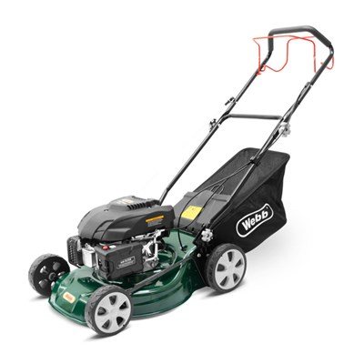 Webb WER460SP Classic Petrol 46cm (18inch) Self Propelled Rotary Lawnmower