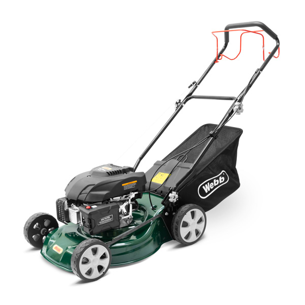 Webb WER460SP Classic Petrol 46cm (18inch) Self Propelled Rotary Lawnmower No Colour
