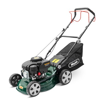 Webb WER410SP Classic Petrol 41cm (16inch) Self Propelled Rotary Lawnmower