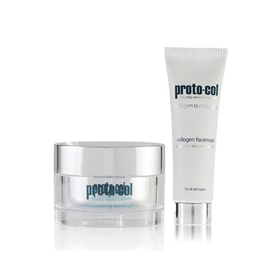 Proto-col Facial Gel 50ml with Bonus Face Mask 20ml