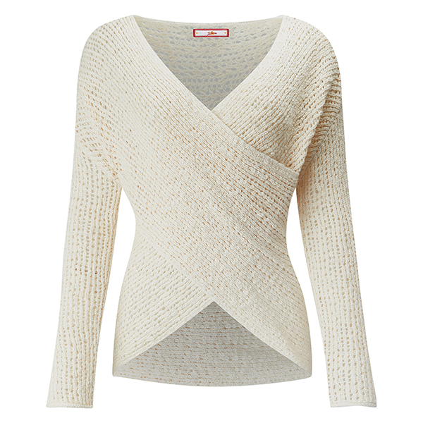 Joe Browns Beautiful Crossover Jumper Cream