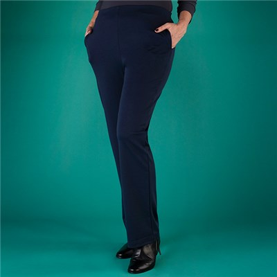 Emelia Pull On Ponte Trouser 27 Inch
