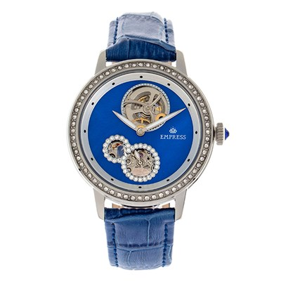 Empress Ladies' Tatiana Automatic Watch with Genuine Leather Strap