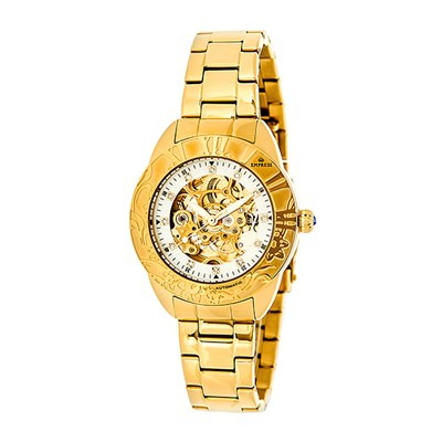 Empress Ladies' Godiva Automatic Watch with Stainless Steel Bracelet