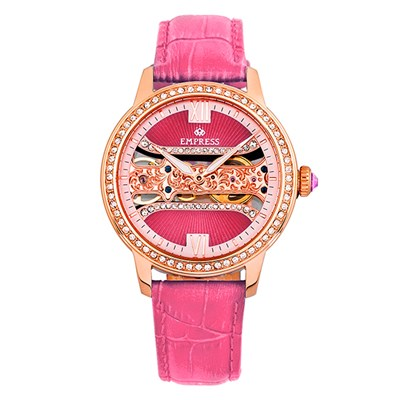 Empress Ladies' Rania Watch with Genuine Leather Strap