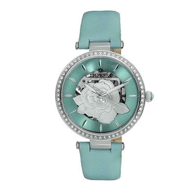 Empress Ladies' Anne Automatic Watch with Genuine Leather Strap