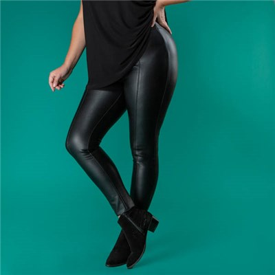 Stolen Heart Faux Leather Trouser