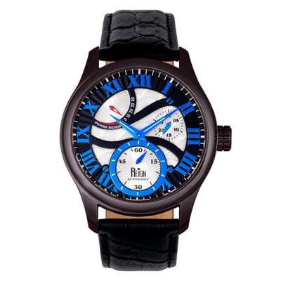 Reign Gent's Bhutan Automatic Watch with Genuine Leather Strap