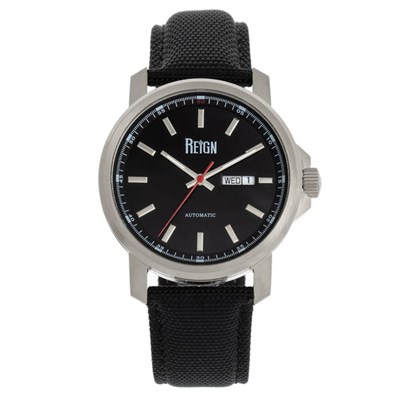 Reign Gent's Helios Automatic Watch with Genuine Leather Strap